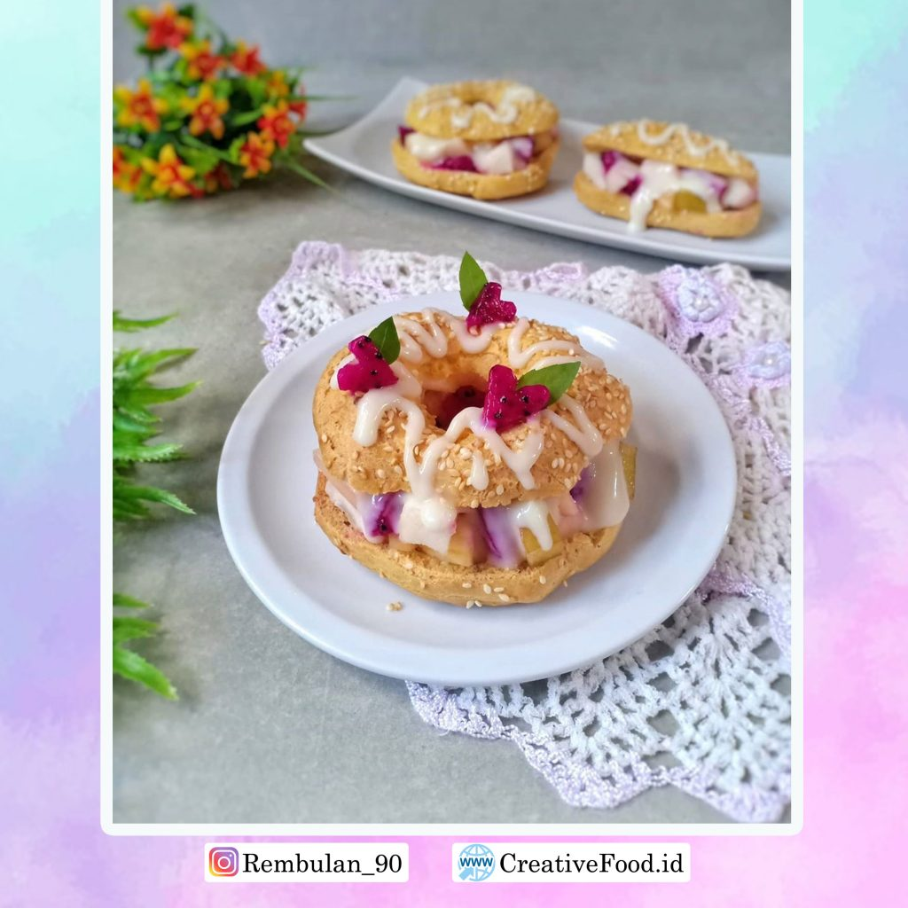 CHOUX SALAD FRUIT, Recipes
